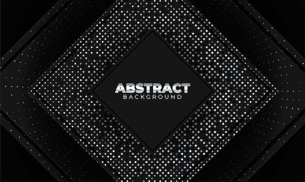 Abstrakcjonistyczny tło z geometrycznymi kształtami. element dekoracyjny do projektu plakatu lub okładki. ilustracja