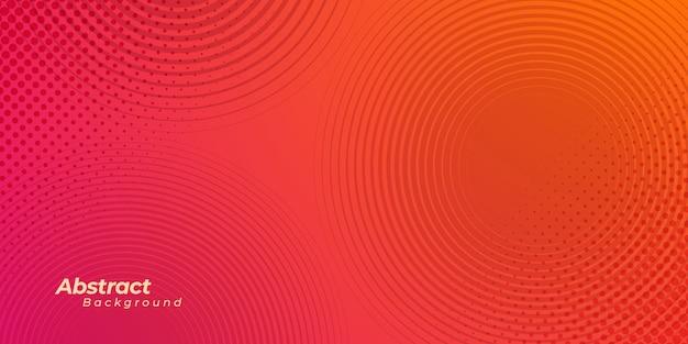 Abstrakcjonistyczny tło z halftone okręgu linią i kropkami.