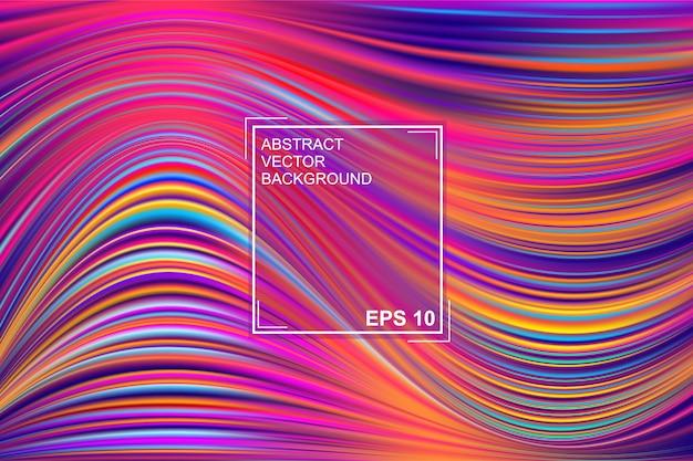 Abstrakcjonistyczny tło z pięknymi galanteryjnymi farba wzorami