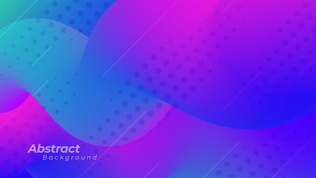 Abstrakcjonistyczny tło z purpurowym i błękitnym kolorem.
