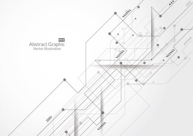 Abstrakcjonistyczny tło z technologia obwodu deski teksturą