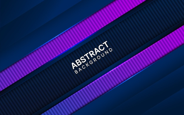 Abstrakcjonistyczny zmrok - błękitny i purpurowy tło.