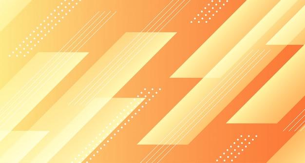 Abstrakcjonistyczny żółty gradientowy geometryczny tło projekt