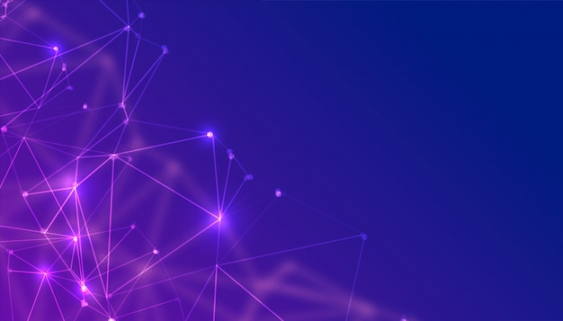 Abstrakcjonistycznych technologii cząsteczek niski poli- tło