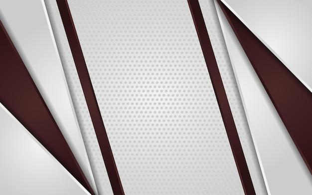 Abstrakcyjna biała kropka tekstura tło z gradientowym brązem