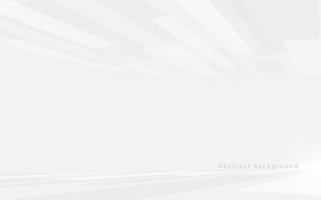 Abstrakcyjna biel i szarość technologia hi-tech futurystyczny cyfrowy. szybki ruch. perspektywa kwadraty tekstury.