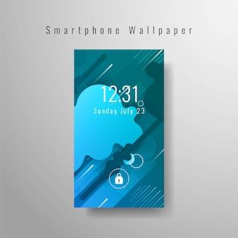 Abstrakcyjna elegancka tapeta na smartfona