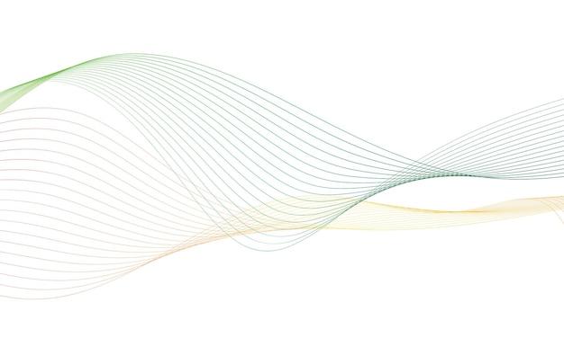 Abstrakcyjna kolorowa fala cyfrowy korektor ścieżki częstotliwości