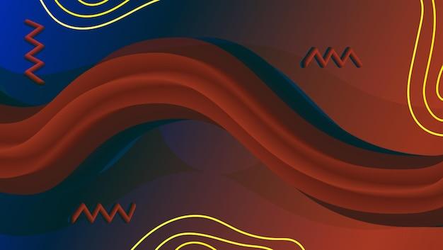 Abstrakcyjna kolorowa mieszanka tła 2