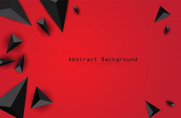 Abstrakcyjna kompozycja trójkąta. nowoczesne tło geometryczne