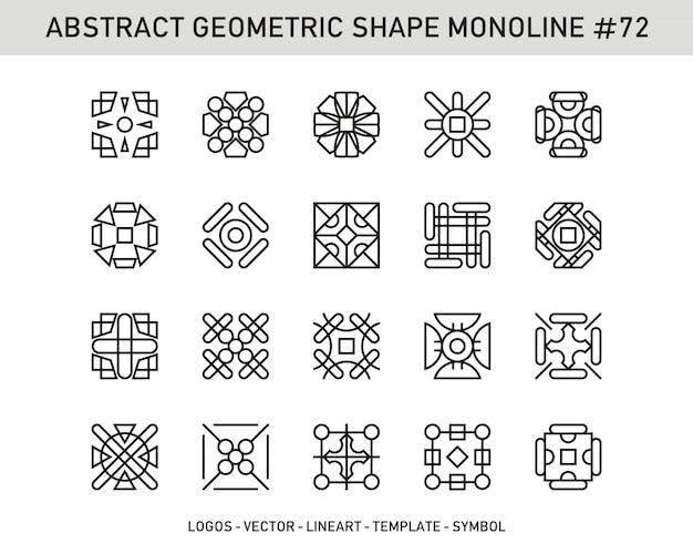 Abstrakcyjna kształt geometryczny # 72