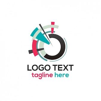 Abstrakcyjna okręgu logo