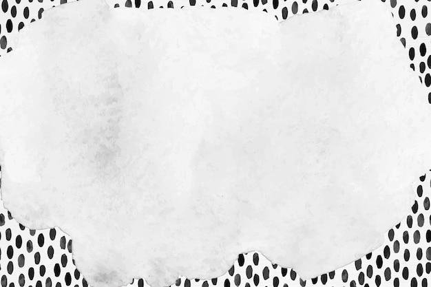 Abstrakcyjna ramka wektor pędzel w tle wzorzyste