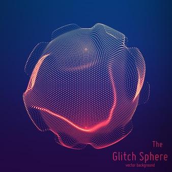 Abstrakcyjna sfera cząstek