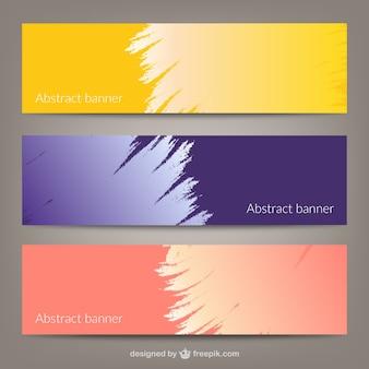 Abstrakcyjna transparentu szablony