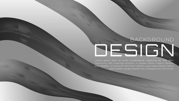 Abstrakcyjne 3d płynne tło gradientowe z miękkim kolorem dla strony docelowej i tapety internetowej