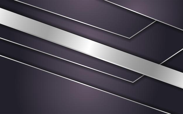 Abstrakcyjne brązowe tło ze srebrną linią