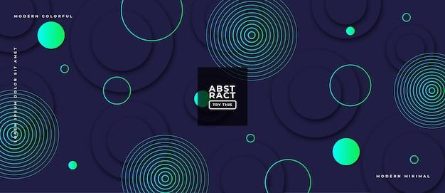 Abstrakcyjne geometryczne kształty gradientowe na skład dynamicznej ilustracji tło.