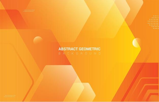 Abstrakcyjne geometryczne sześciokątne tło