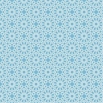 Abstrakcyjne geometryczne tło islamu
