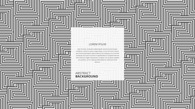 Abstrakcyjne geometryczne ukośne kwadratowe linie tła z przykładowym szablonem tekstowym