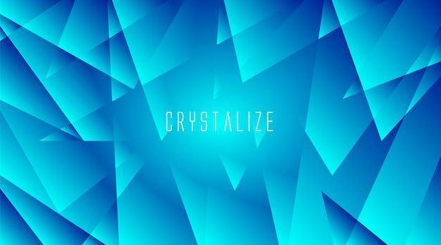 Abstrakcyjne kryształowe tło z gradientem