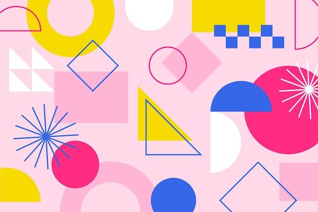 Abstrakcyjne kształty geometryczne tło