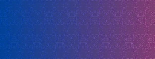 Abstrakcyjne, kształty, geometryczne, wzór, projekt, kolorowe, orchidea, niebieskie tło gradientowe tapety