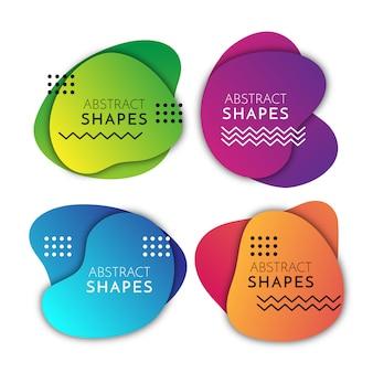 Abstrakcyjne kształty płynów