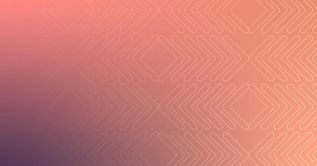 Abstrakcyjne kształty strzałka linia ciemnofioletowa brązowa różowa gradientowa tapeta tło wektor ilustracja