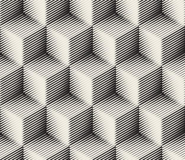 Abstrakcyjne kwadraty deseń