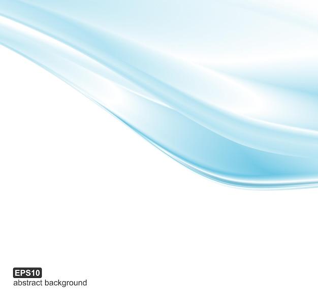 Abstrakcyjne niebieskie fale