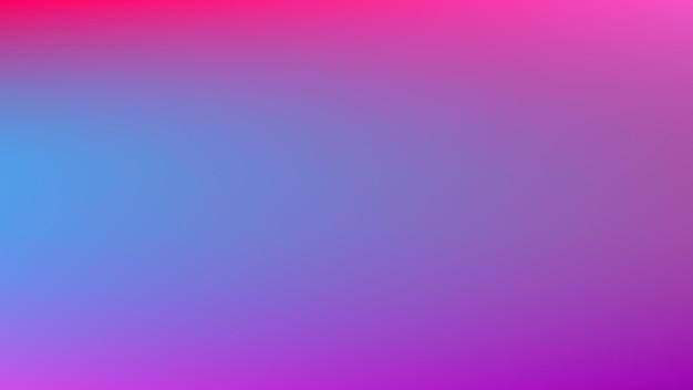 Abstrakcyjne niebieskie i fioletowe tło gradientowe z pustym, gładkim i niewyraźnym wielokolorowym stylem