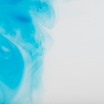 Abstrakcyjne niebieskie tło akwarela