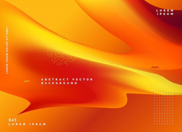 Abstrakcyjne odcienie pomarańczowe tło wektor