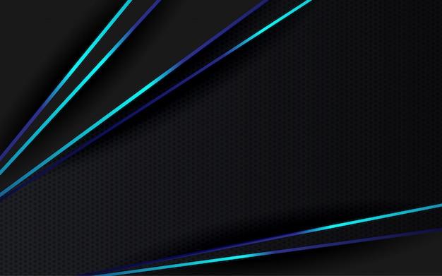 Abstrakcyjne tło czarno-niebieski kolor