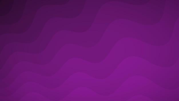 Abstrakcyjne tło falistych linii w odcieniach fioletu