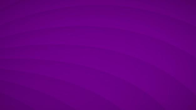 Abstrakcyjne tło falistych zakrzywionych pasków z cieniami w fioletowych kolorach