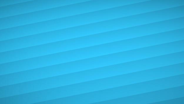 Abstrakcyjne tło falistych zakrzywionych pasków z cieniami w jasnoniebieskich kolorach