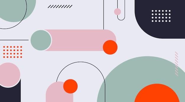 Abstrakcyjne tło geometryczne