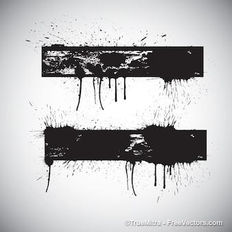 Abstrakcyjne tło grunge banner