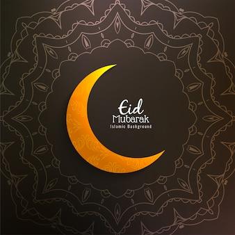 Abstrakcyjne tło islamskie eid mubarak