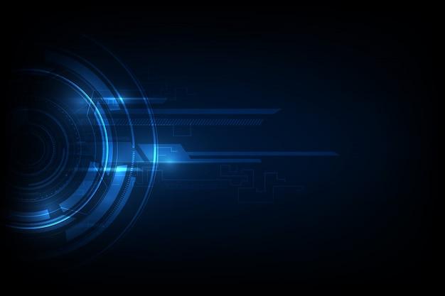 Abstrakcyjne tło komunikacji technologii