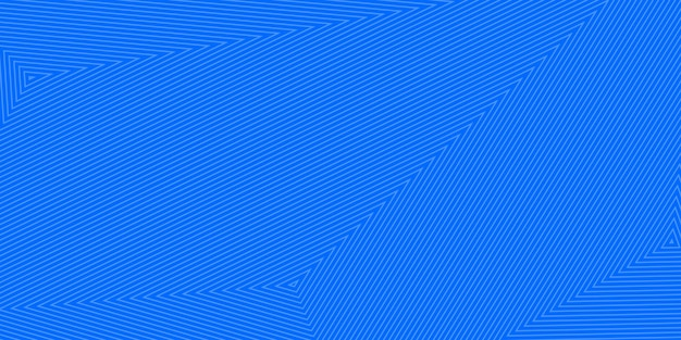 Abstrakcyjne tło koncentrycznych trójkątów w jasnoniebieskich kolorach