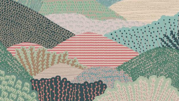 Abstrakcyjne tło krajobrazu
