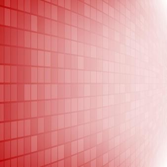 Abstrakcyjne tło małych kwadratów lub pikseli w czerwonych kolorach
