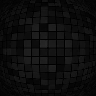 Abstrakcyjne tło małych kwadratów lub pikseli w kolorach czarnym i szarym
