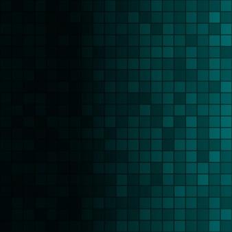 Abstrakcyjne tło małych kwadratów w jasnoniebieskich kolorach z poziomym gradientem