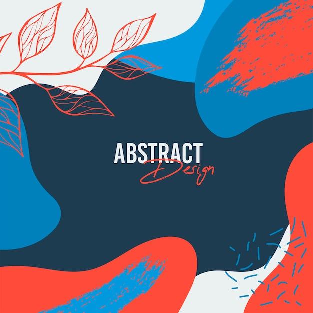 Abstrakcyjne tło. nowoczesny szablon w minimalistycznym stylu. stylowa okładka do prezentacji piękna, branding design. ilustracja wektorowa