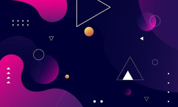 Abstrakcyjne tło o geometrycznych kształtach